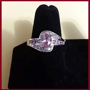 14K White Gold Filled Ring